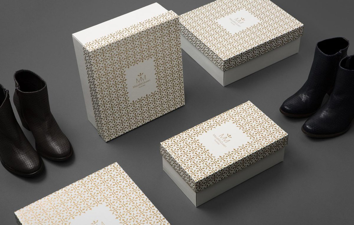 Maya McQueen brand packaging redesigned