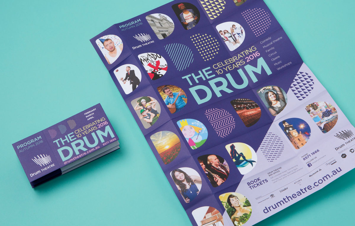 this is the drum theatre brochure