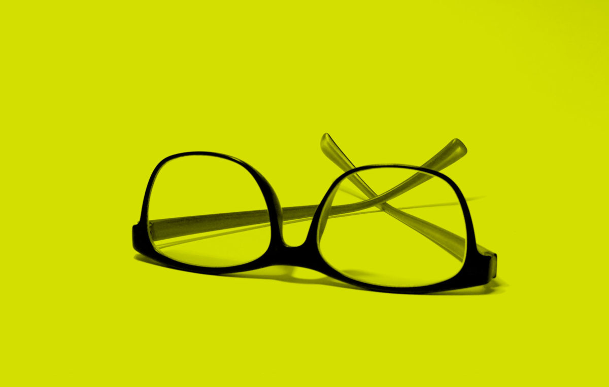 this is an image of a pair of reading glasses